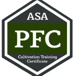 Cultivation Training Certificate